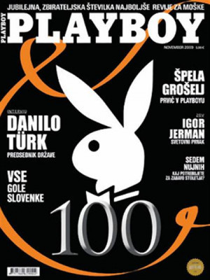 Playboy Slovenia - Nov 2009