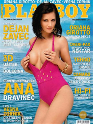 Playboy Slovenia - Nov 2010