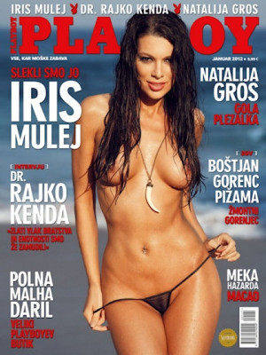 Playboy Slovenia - Jan 2012