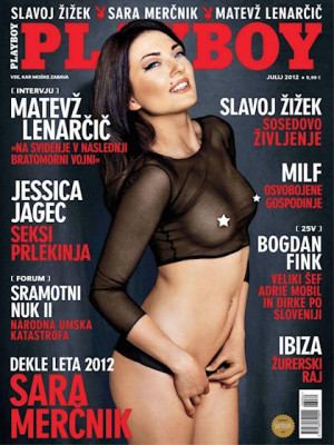 Playboy Slovenia - July 2012