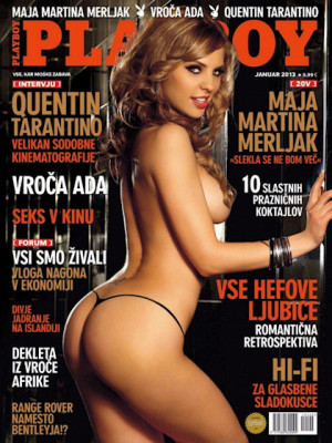 Playboy Slovenia - Jan 2013