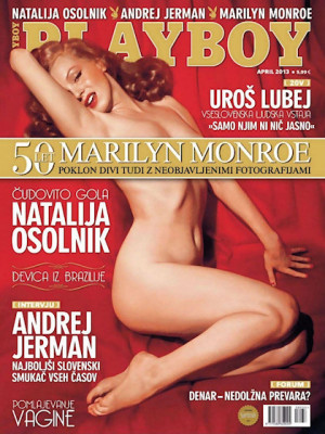 Playboy Slovenia - Apr 2013
