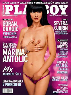 Playboy Slovenia - Aug 2013