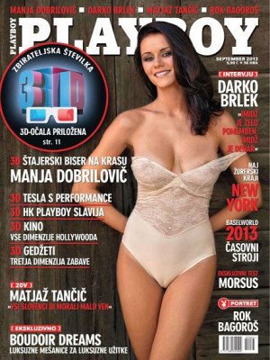 Playboy Slovenia - Sep 2013
