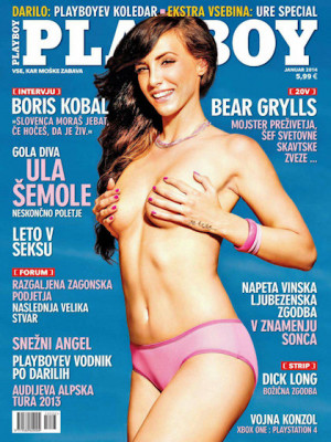 Playboy Slovenia - Jan 2014
