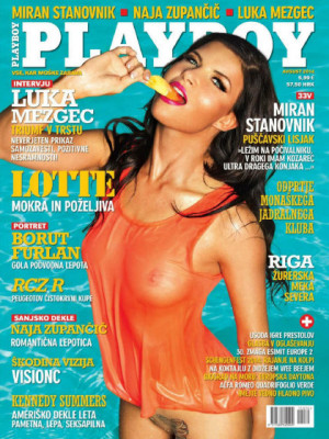 Playboy Slovenia - Aug 2014