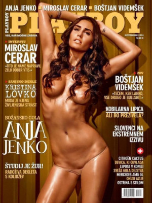 Playboy Slovenia - Nov 2014