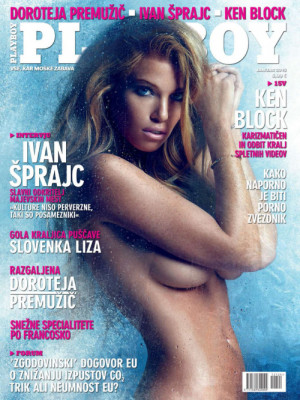 Playboy Slovenia - Jan 2015