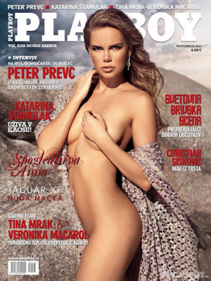 Playboy Slovenia - Nov 2015