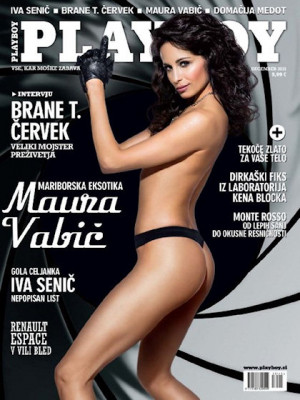 Playboy Slovenia - Dec 2015