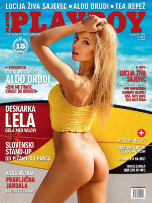 Playboy Slovenia - Sep 2016
