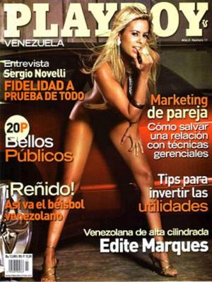Playboy Venezuela - Nov 2007