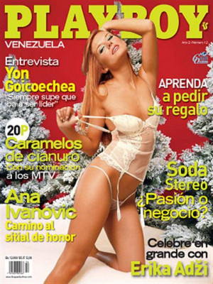 Playboy Venezuela - Dec 2007