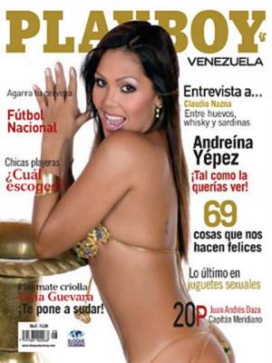 Playboy Venezuela - Aug 2008