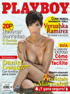 Playboy Venezuela - Dec 2008