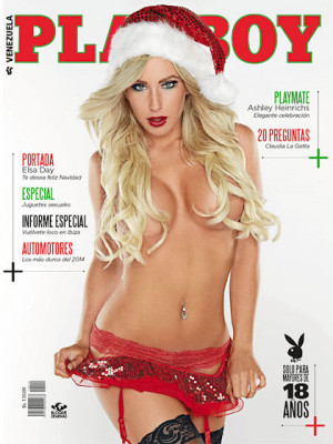 Playboy Venezuela - Dec 2014