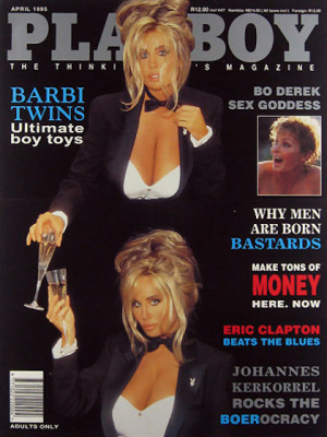 Playboy South Africa - April 1995