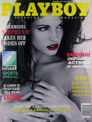 Playboy South Africa - May 1995