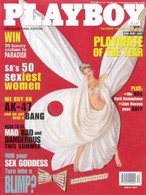Playboy South Africa - Dec 1996