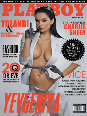 Playboy South Africa - August 2012