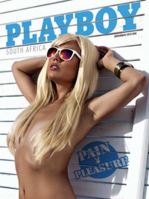 Playboy South Africa - November 2013
