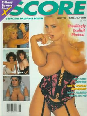 Score Magazine - Aug 1992
