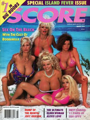 Score Magazine - March 1993