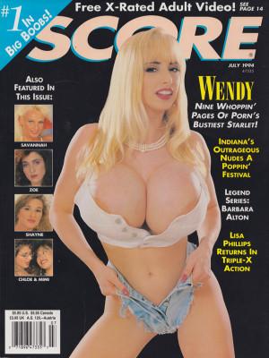 Score Magazine - July 1994