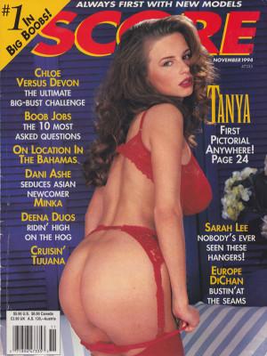 Score Magazine - November 1994
