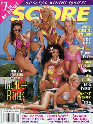 Score Magazine - January 1996