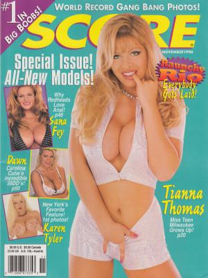 Score Magazine - November 1996