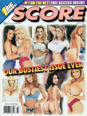 Score Magazine - March 1998