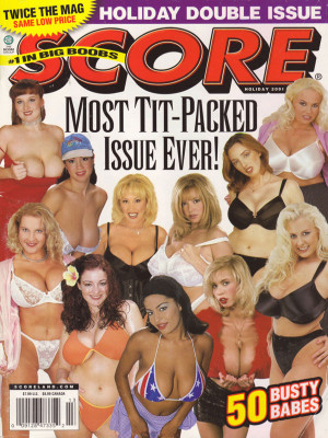 Score Magazine - Holiday 2001