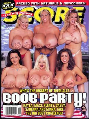Score Magazine - April 2002