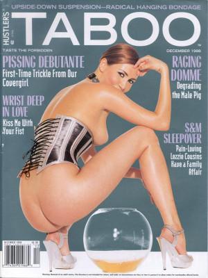 Hustler's Taboo - December 1998