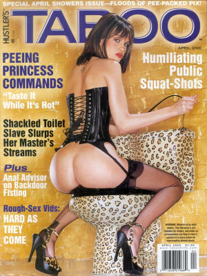 Hustler's Taboo - April 2000