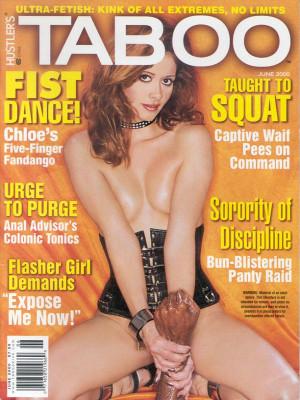 Hustler's Taboo - June 2000