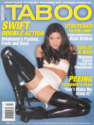 Hustler's Taboo - July 2000