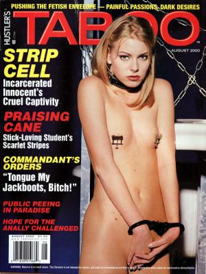 Hustler's Taboo - August 2000