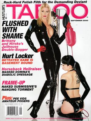 Hustler's Taboo - September 2000