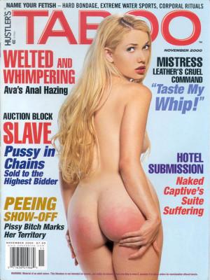 Hustler's Taboo - November 2000