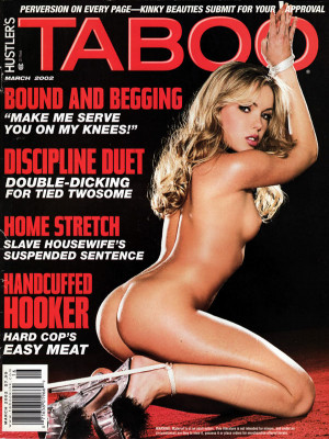 Hustler's Taboo - March 2002