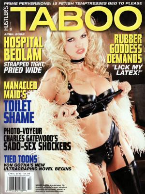 Hustler's Taboo - April 2002
