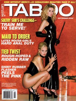Hustler's Taboo - September 2002
