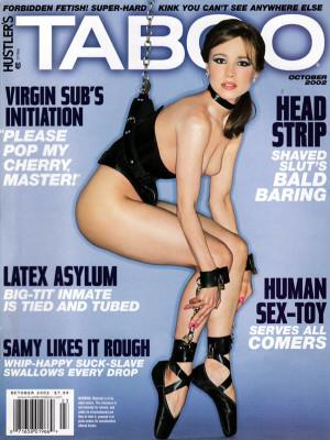 Hustler's Taboo - October 2002