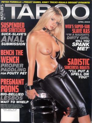 Hustler's Taboo - April 2003