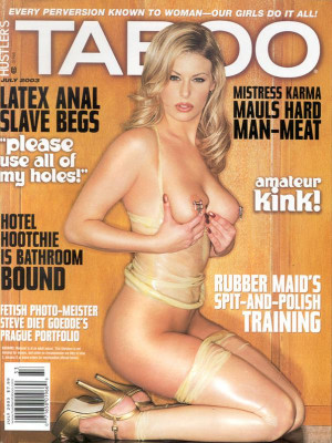 Hustler's Taboo - July 2003