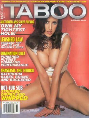 Hustler's Taboo - October 2003