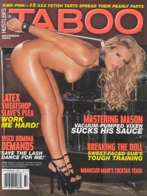 Hustler's Taboo - November 2003
