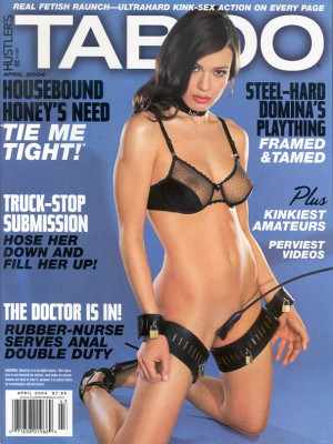 Hustler's Taboo - April 2004